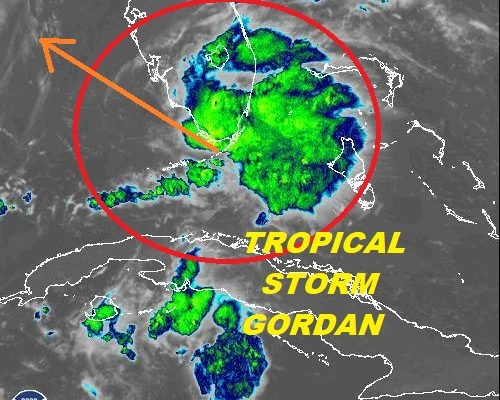 tropical storm gordon