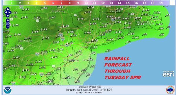 soaking rain severe weather