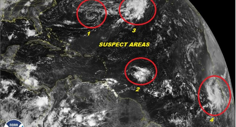 tropical storm development