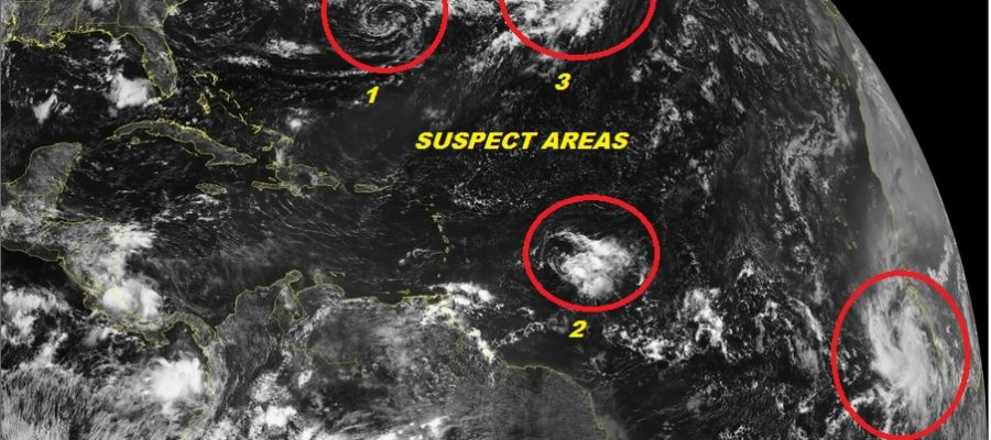 tropical storm development