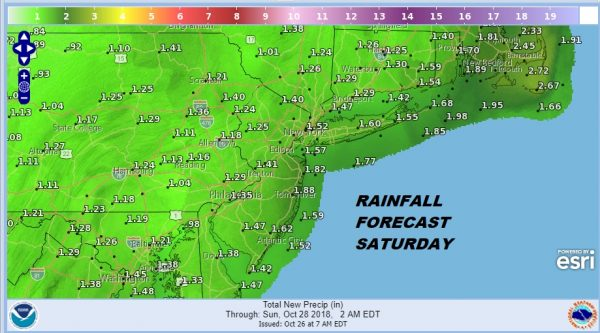 noreaster conditions