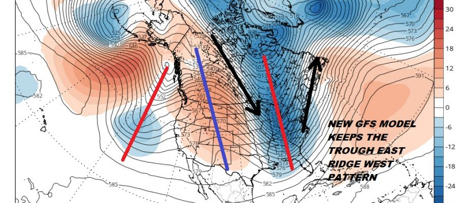 long range weather pattern