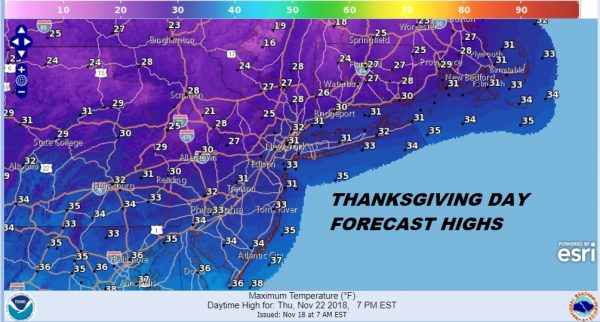 thanksgiving day cold
