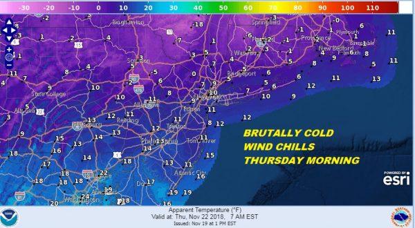 winter weather advisory wind chill