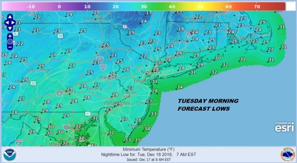 colder air moving in