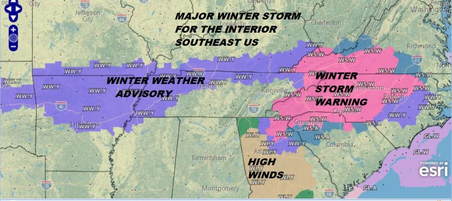 cold weekend snowstorm winter storm warning