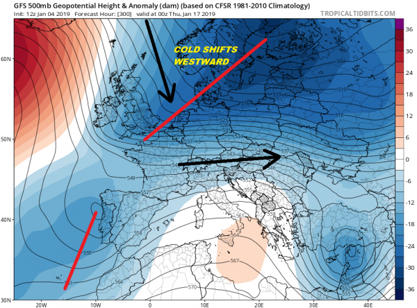 Polar Vortex Europe Impacts Cold Snow