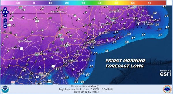 Temperatures Rebound Light Snow South Friday Showers Next Tuesday