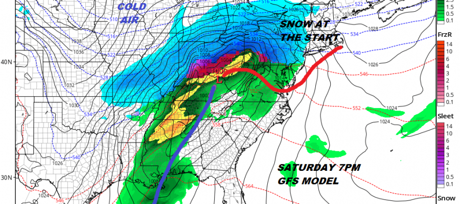 Snow Thursday Night Friday Morning Minor Event
