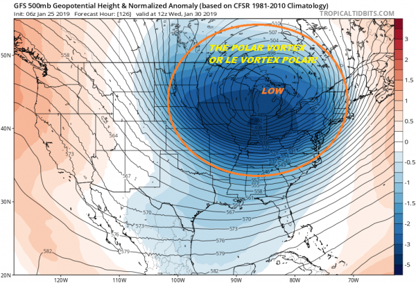 Colder Weekend Polar Vortex Bitter Air Awaits Later Next Week