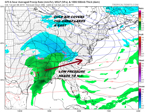 Colder Air Gusty Winds Weekend Snow Questions Continue
