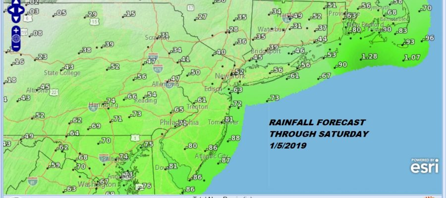 Rain Saturday Dry Sunday Busy Pattern Continues