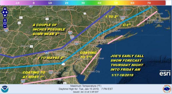 Snow Thursday Night Friday Morning Minor Event