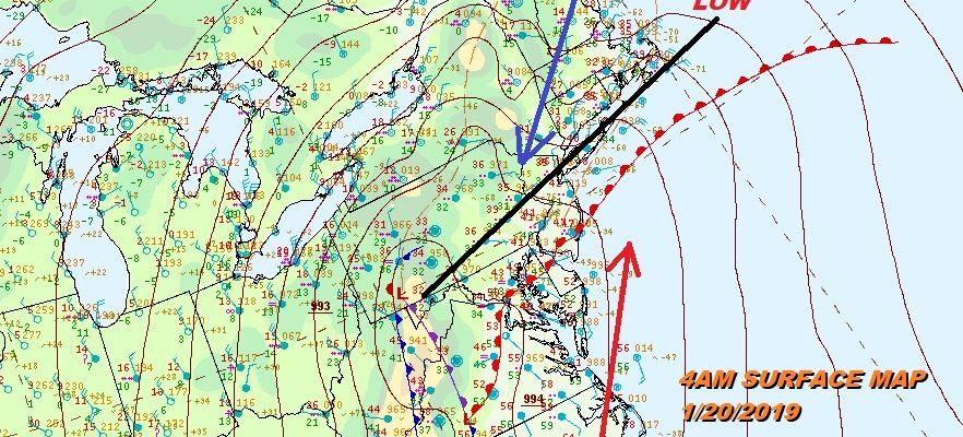 Northeast Winter Storm Exits Bitter Cold Air Arrives Tonight
