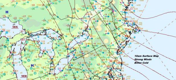 Freezing Rain Chance Wednesday Morning Inland