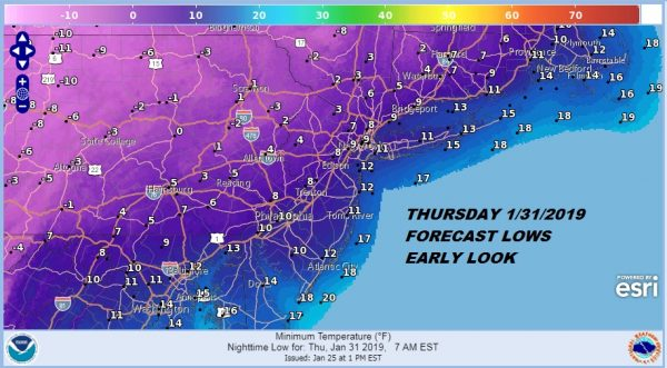 Polar Vortex Plunge Early Look At Later Next Week