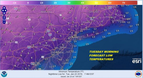 Northeast Winter Storm Exits Bitter Cold Air Arrives Tonight