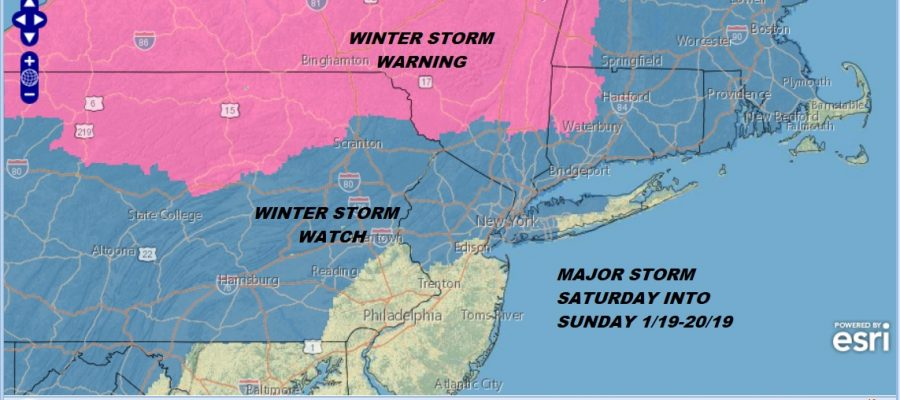 winter storm warning snow
