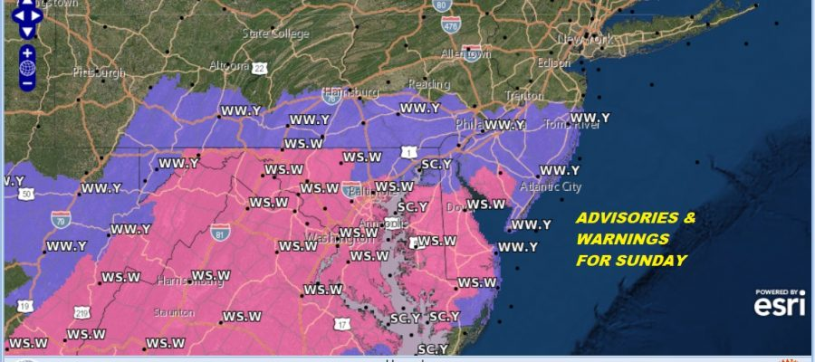 winter storm warning sw jjersey