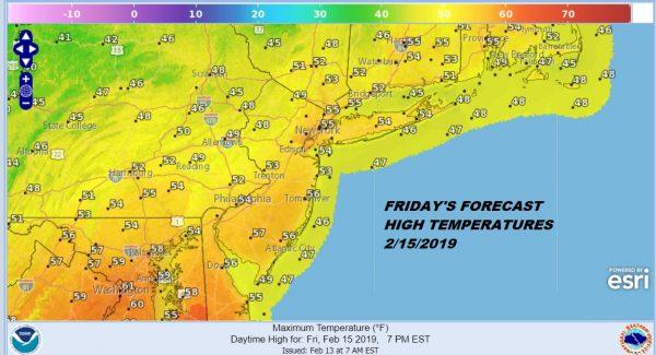 Some Sun Next 2 Days Minimal Shower Chance Friday