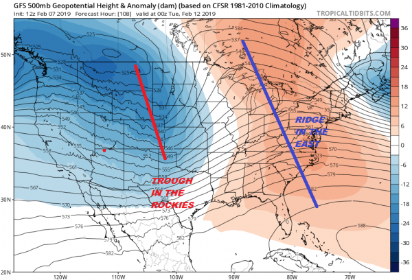 Weather Model Noise Continues Regarding Next Tuesday Snow Chance