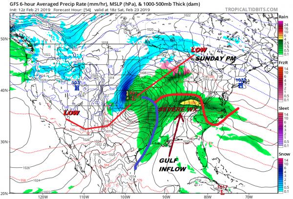Major Storm Great Lakes Rain Saturday Night Sunday Very Windy Sunday Night Monday
