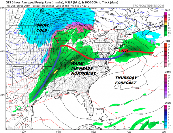Spring Pattern Continues Near 60 Today Colder Damp Later Wednesday Thursday