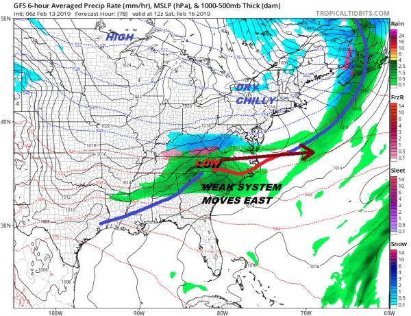 Quiet Time Weak Systems Chance Rain Snow Monday Some Sun Next 2 Days Minimal Shower Chance Friday