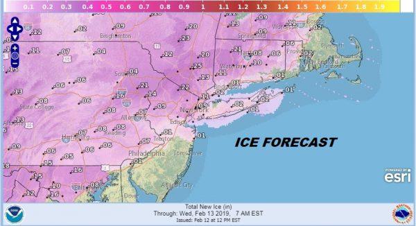 Temperatures Struggle Sleet Freezing Rain Icing