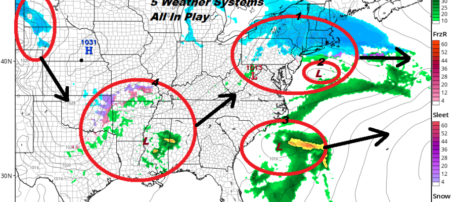Snow Showers Today Coating to an Inch or So Tonight