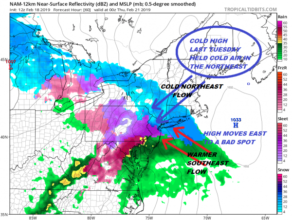 Next Storm Likely To Underperform Higher Amounts South