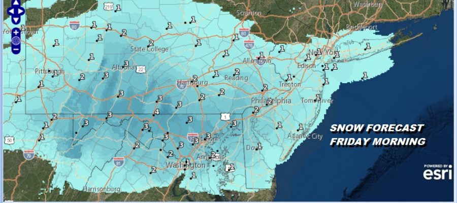 Winter Weather Advisory Southwest New Jersey Southern Pennsylvania