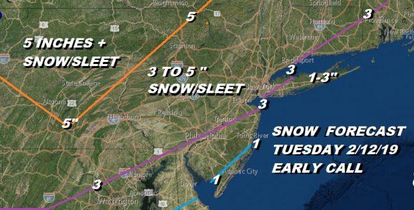 winter weather advisory winter storm watch Snow Freezing Rain Sleet Rain System 2 Monday Night Tuesday