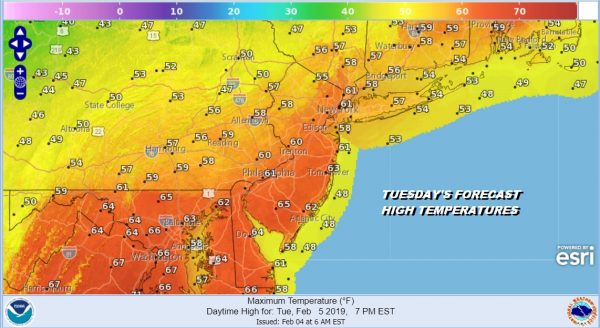 Nice Mid March Weather Arrives Today Tuesday