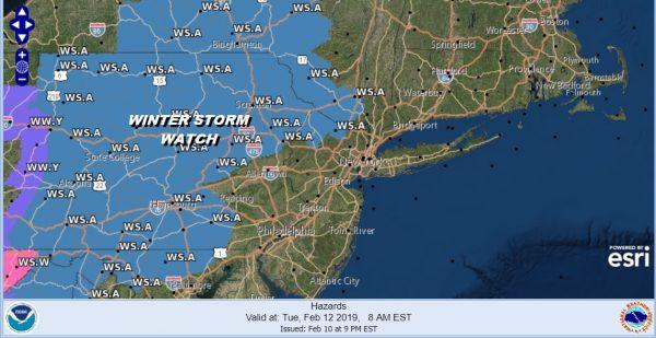 winter weather advisory winter storm watch