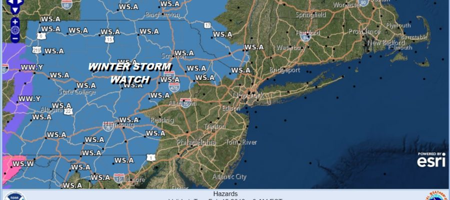 winter weather advisory winter storm watch