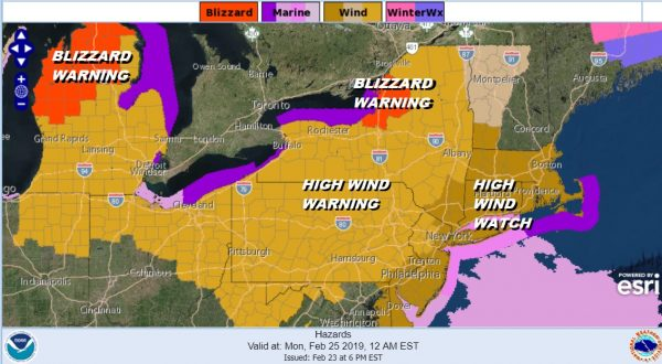 High Wind Warning High Wind Watch