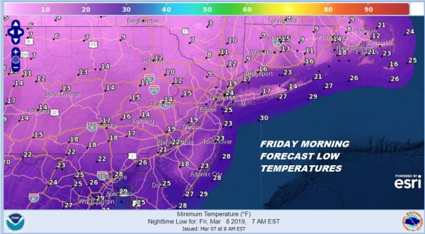 Cold Abates 2 Weather Systems Ahead
