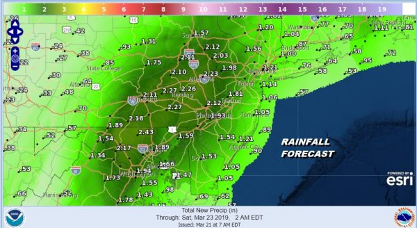 Flood Watch Coastal Flood Warning Storm Inching Northward