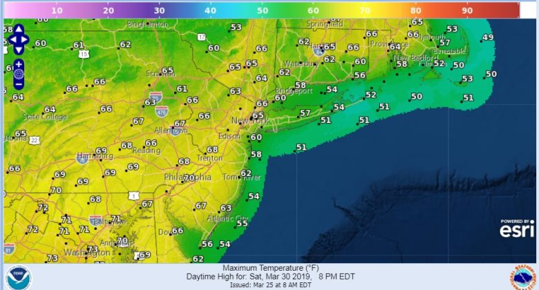 Better Weather Ahead Warmer Late Week Away From The Ocean