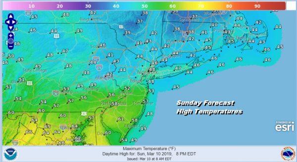 Rain Gradually Ends Weather Improves Dry Start Week Ahead