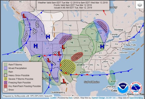 Great Plains Storm Revs Up Nice Weather Continues Here