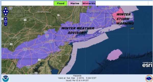 Snow Ending Next Storm System Arrives Late Sunday