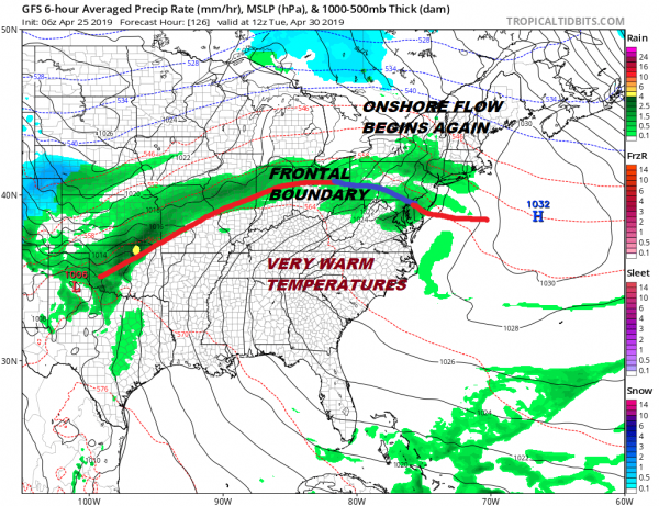 Warm Front Cold Front Combination Dry Saturday Chilly Rain Sunday