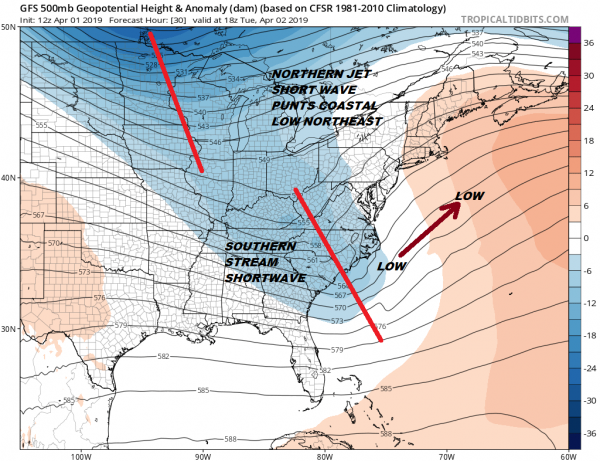 Coastal Storm Makes It Close For Coast Dry Inland No Issues