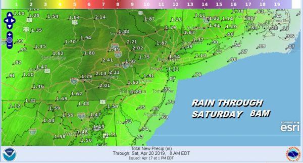 Rain Friday Night Into Saturday Some Improvement Easter Sunday