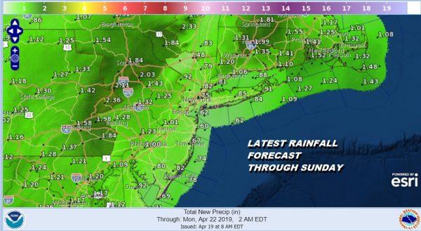 Flash Flood Watch Tonight Saturday Gusty Winds Coastal Flooding