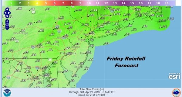 Weather Deteriorates Next 2 Days Split Weekend