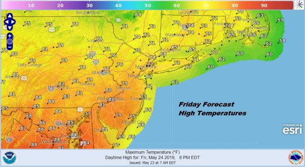 Memorial Day Holiday Weekend Mostly Rain Free Except Saturday Sunday Night
