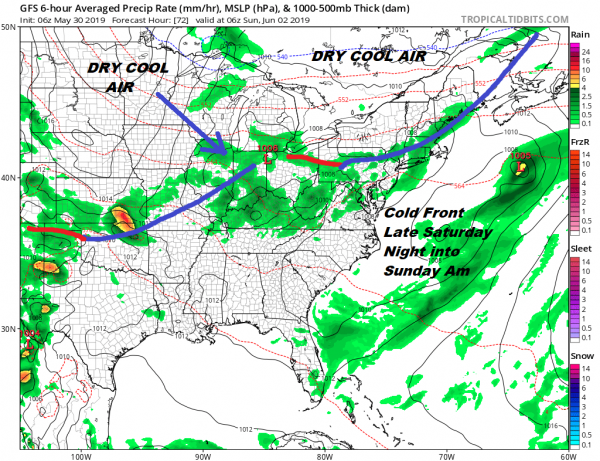 Severe Weather Risk Flash Flood Watch Later Today Weather Conditions Improve Friday